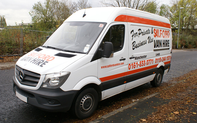 Hire a Transit / Merc / Panel Van