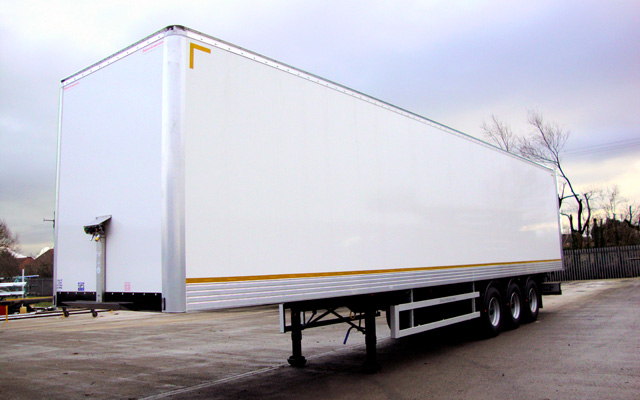 Hire a GRP Box Van Trailer