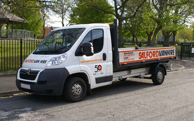 Hire a 3.5T GVW Dropsided Truck