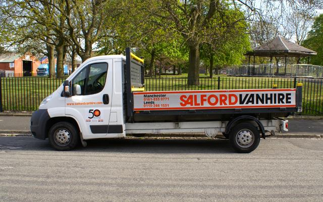 hire a 3 5t gvw dropsided truck salford van hire. Black Bedroom Furniture Sets. Home Design Ideas