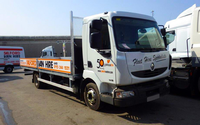 Hire a 7.5T GVW Dropsided Truck