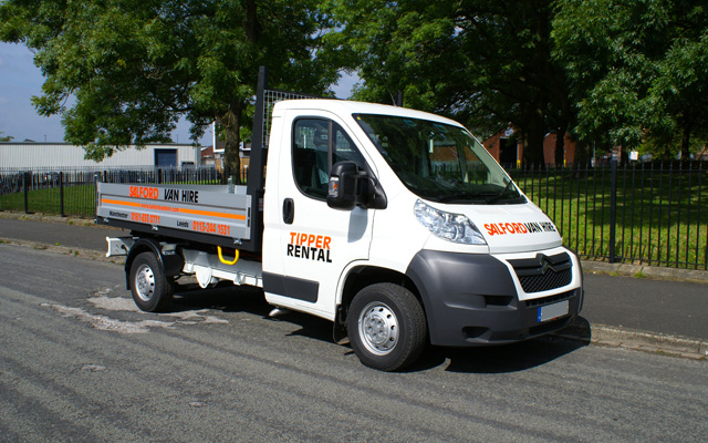 Hire a 3.5T GVW Tipper