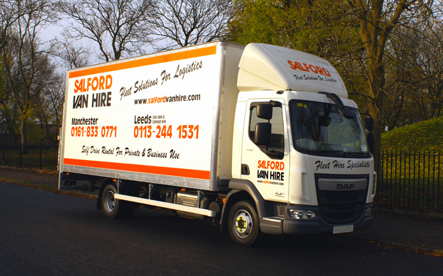 Hire a 7.5 Tonne Gvw Box Van