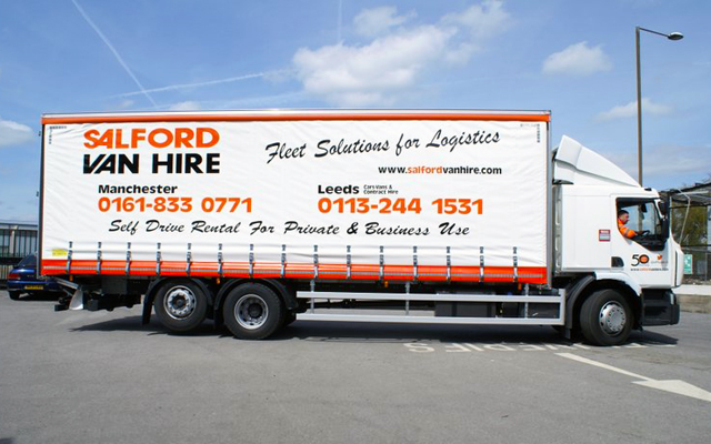 26T GVW 6x2 Rigid Curtainsided With Tail Lift