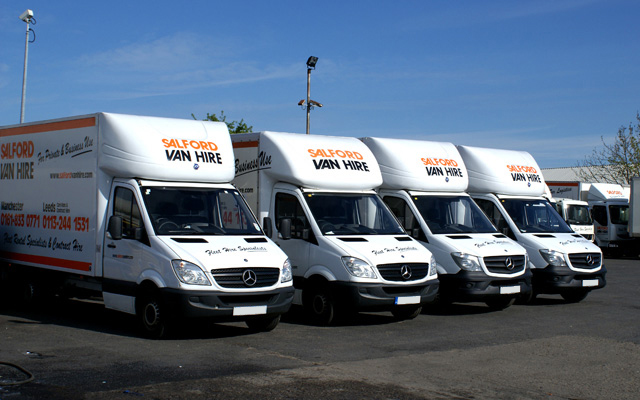 Salford Van Hire, Trailer Hire, Car Hire & Contract Hire